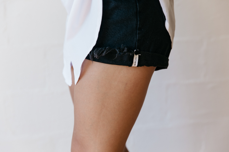 One Teaspoon ripped shorts.