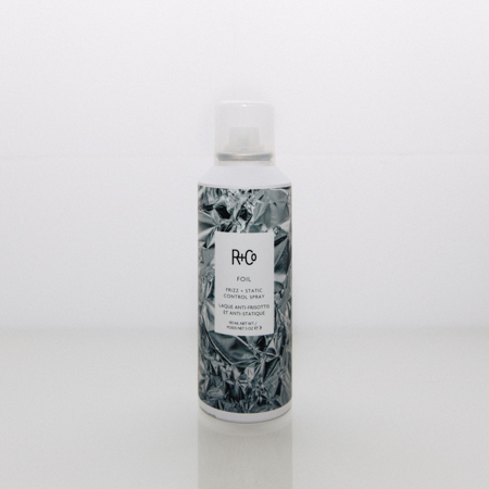 R+Co Foil review. Frizz & static control for hair products.