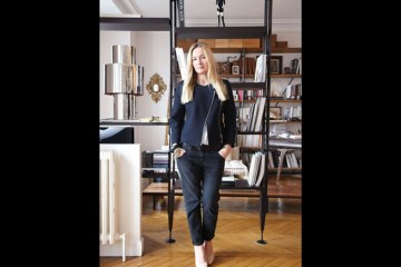 Julie de Libran at home in Paris
