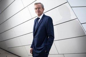 Bernard Arnault, the chairman and chief executive of LVMH Moët Hennessy Louis Vuitton