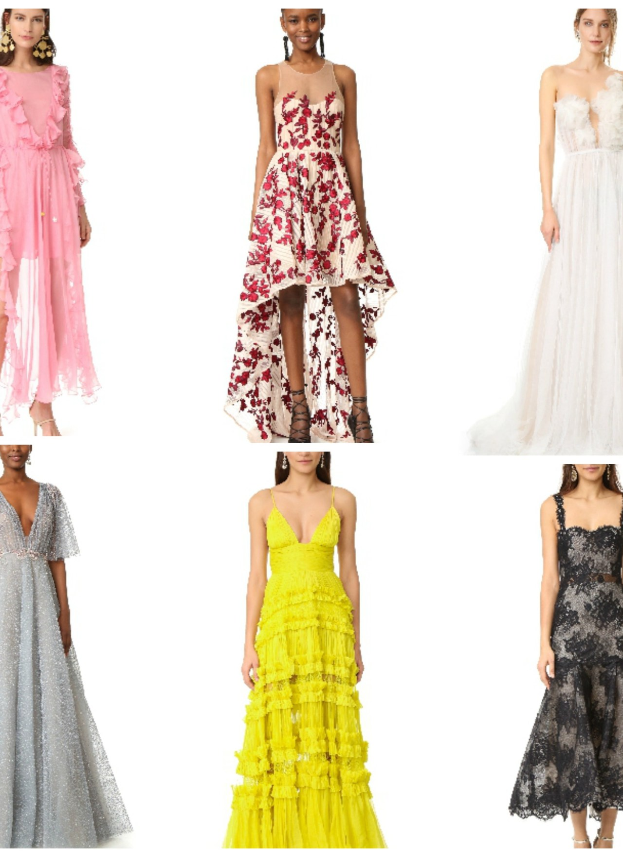 Golden Globe Gowns for Less