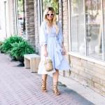 What to Wear to Work: Wrap Dress