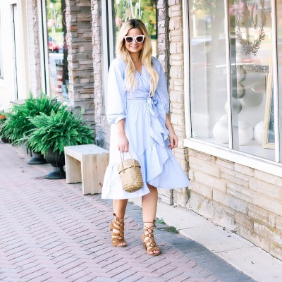 What to Wear to Work: Wrap Dress