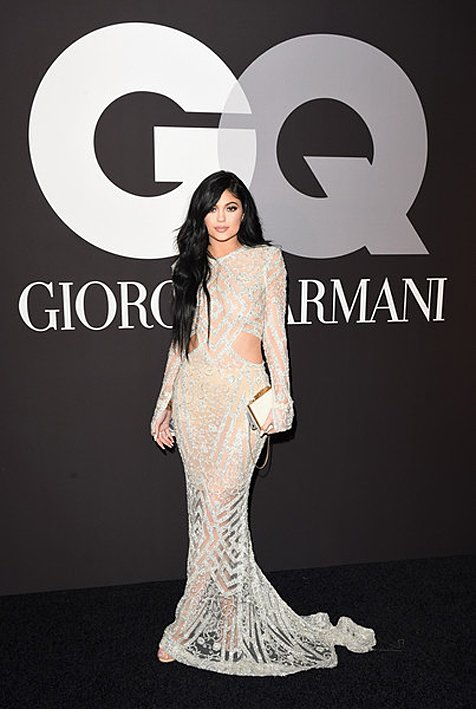 Kylie Jenner Adorns Steven Khalil To The 2015 Grammy Awards After Party