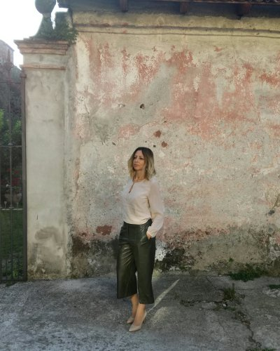 Come indossare i pantaculotte/cropped pants