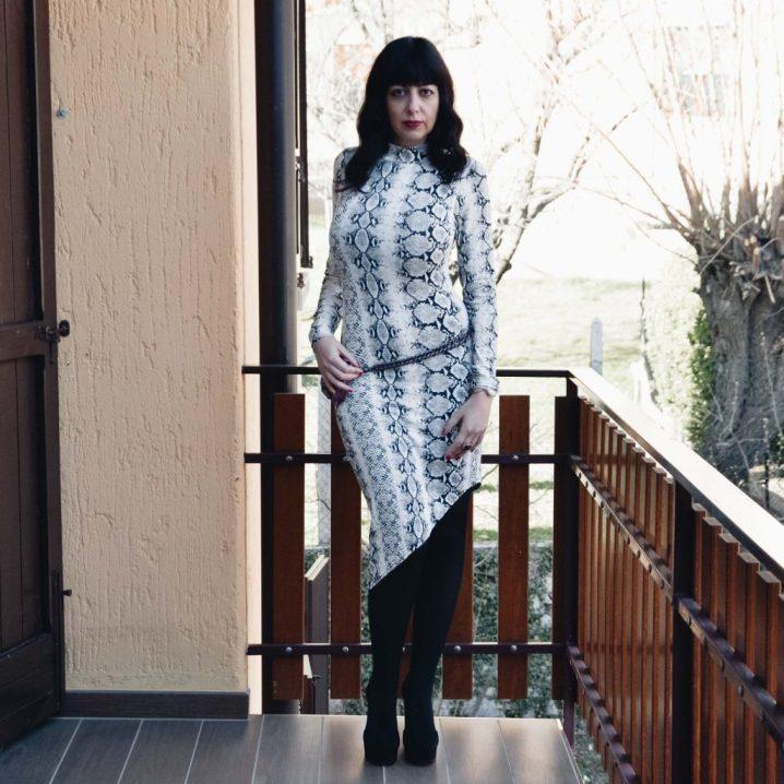 Come indossare un abito pitonato - The Fashion Cherry Diary