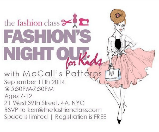 fashion night out for kids