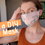 sew a fabric face mask to donate