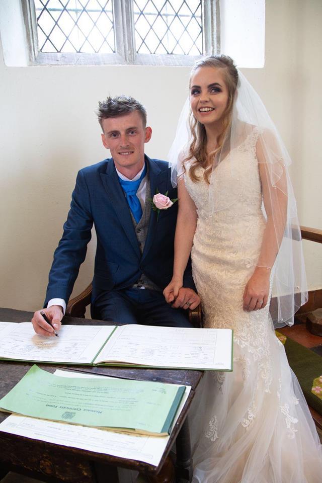 Wedding sign register