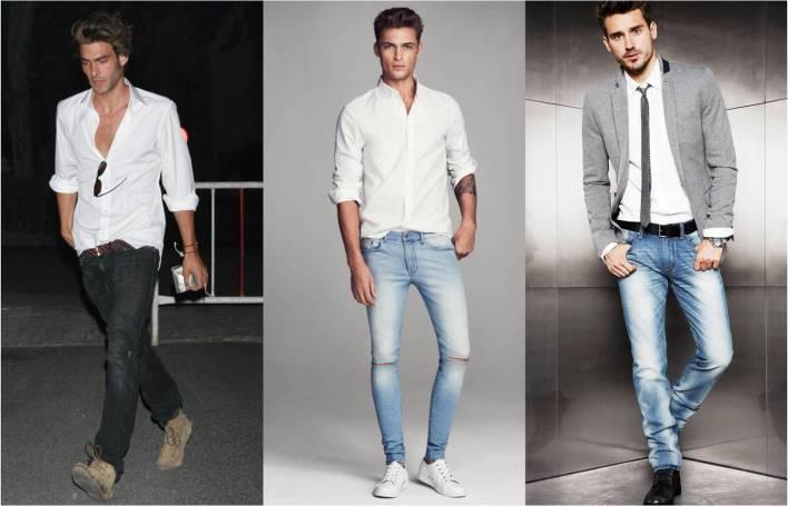Image result for white shirt for men
