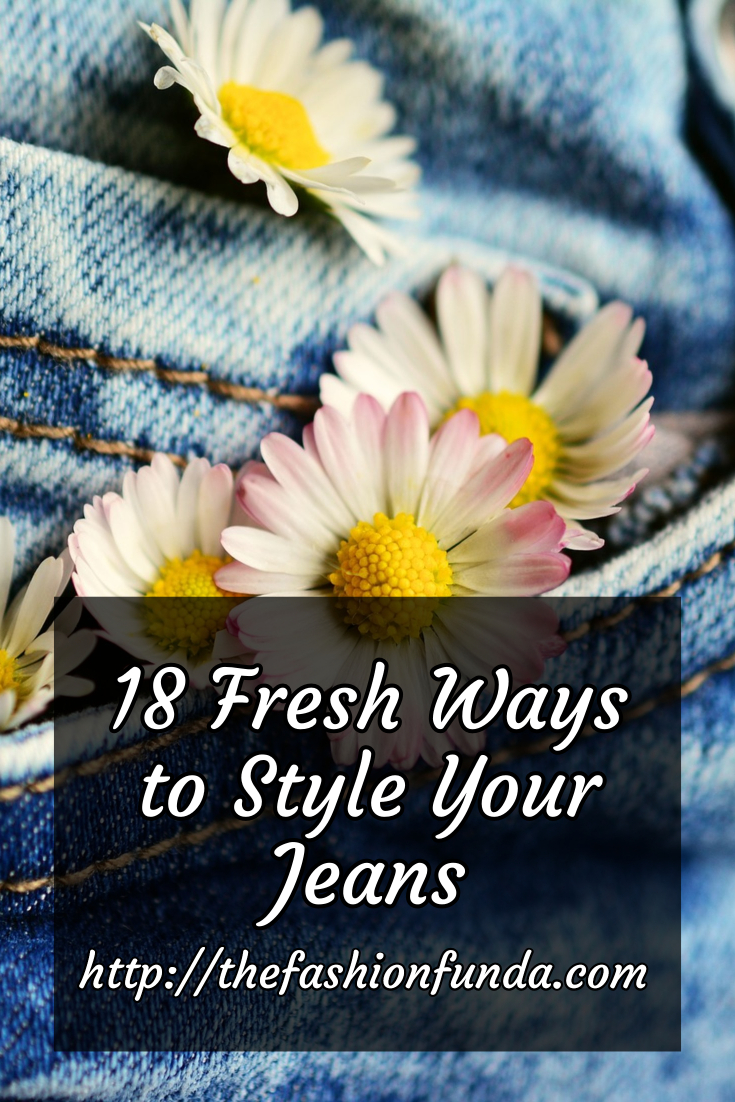 how to style jeans