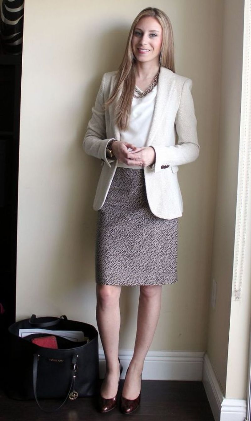 business formal outfit