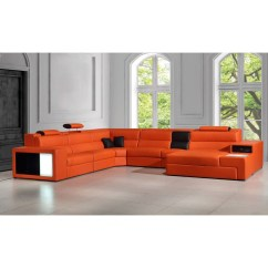 Orange Color Sofa Shelter Collection Home The Honoroak
