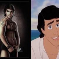 O lado sexy dos Príncipes da Disney