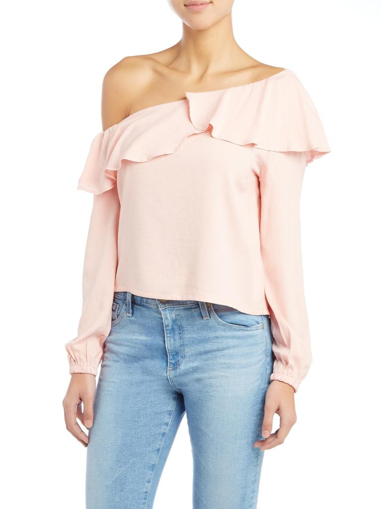 off-the-shoulder tops mink pink