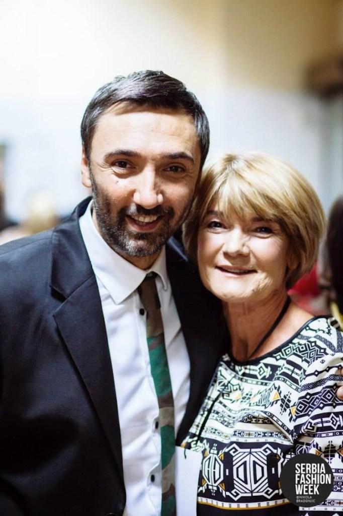 Designers Mladen Baron and Marije Sabic