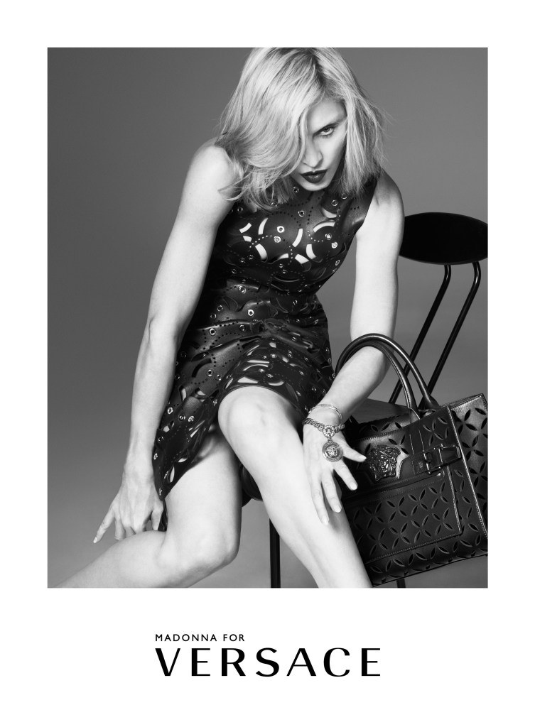 Madonna featured in Versace's Spring/Summer 2015 Campaign