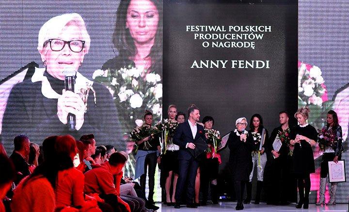 AWARD OF ANNA FENDI