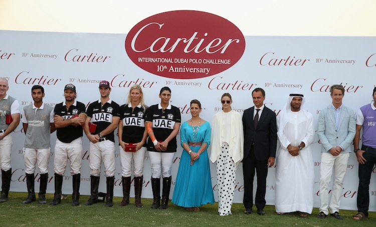 10th Anniversary of Cartier International Dubai Polo Challenge 2015
