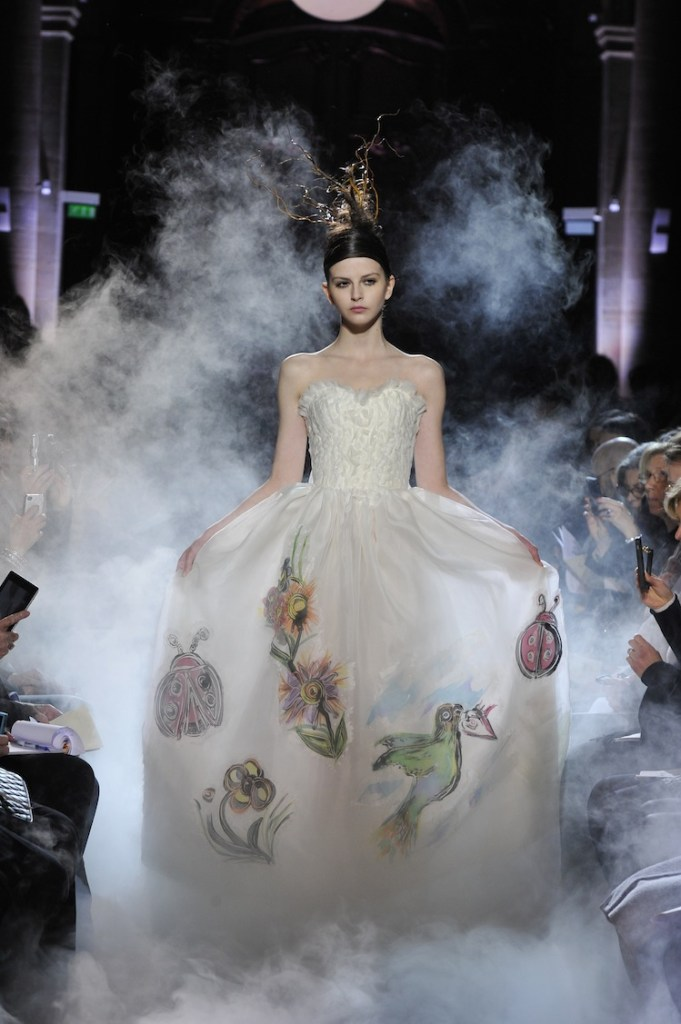 FRANK SORBIER Haute Couture Spring/Summer 2015