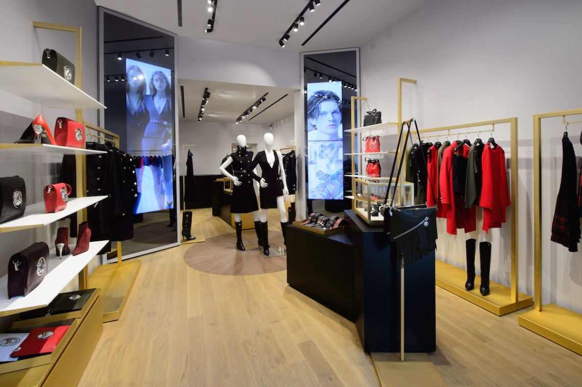 VERSUS VERSACE'S NEW ST. GERMAIN DES PRES BOUTIQUE IN PARIS