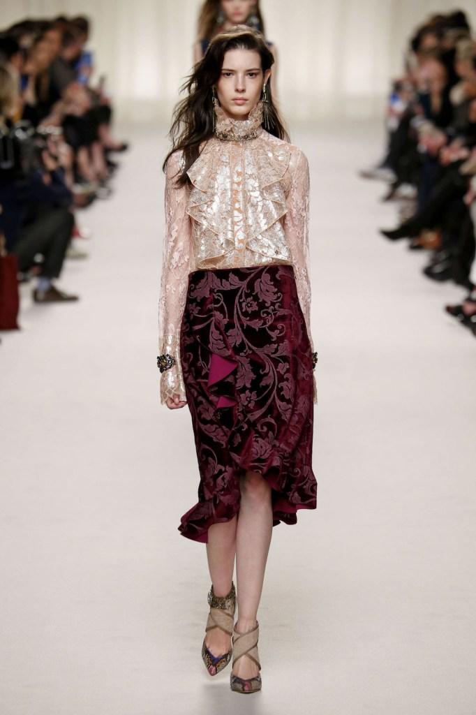 LANVIN Ready to wear fall winter 2016 _17; Paris_march 2016_