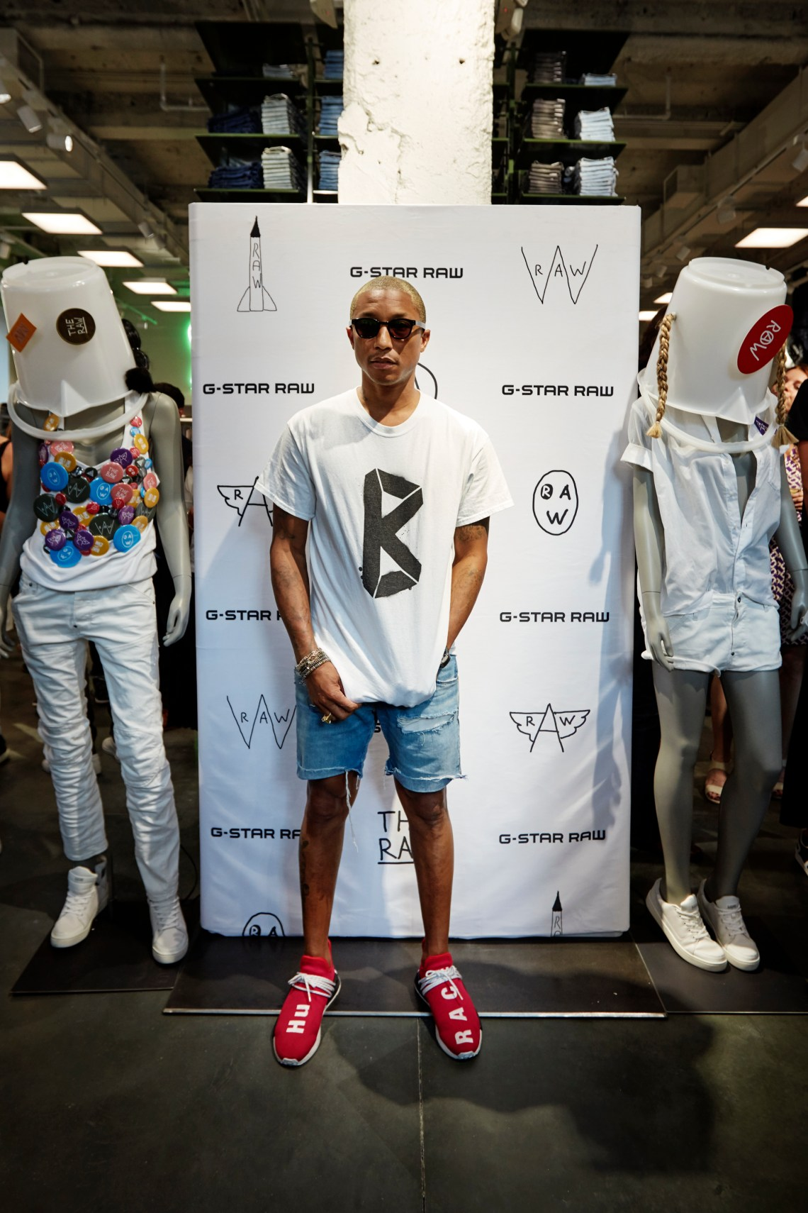 G-STAR RAW & PHARRELL WILLIAMS OPEN FLAGSHIP 5th AVENUE IN NEW YORK