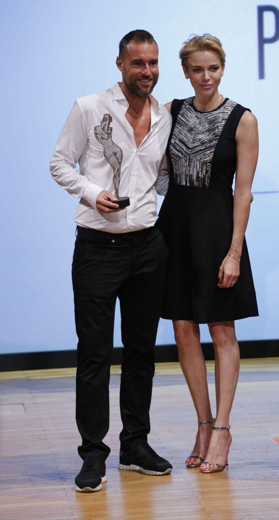 Philipp Plein and S.A.S Charlene Princess Of Monaco