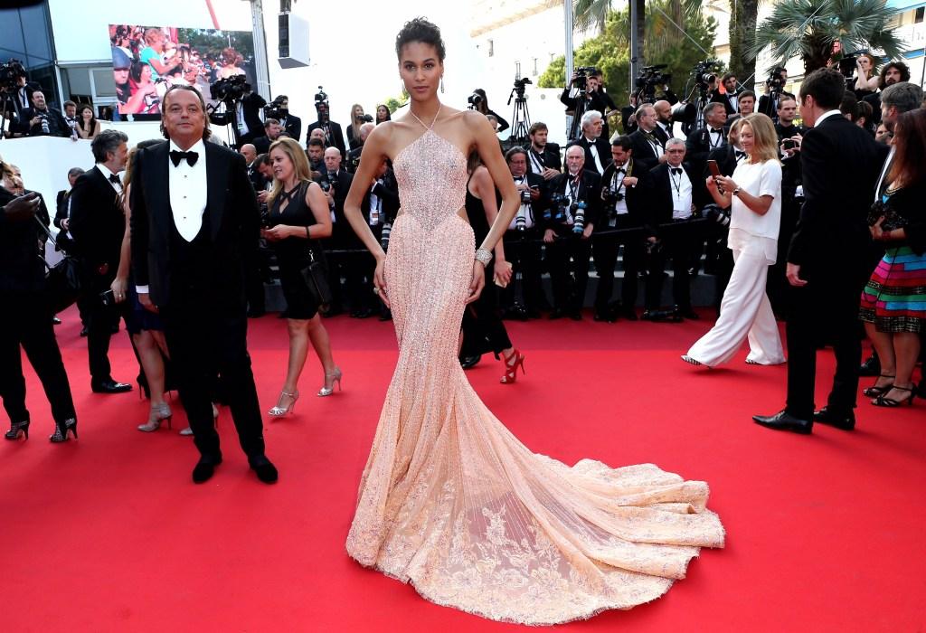 Cindy Bruna in Georges Hobeika in Cannes