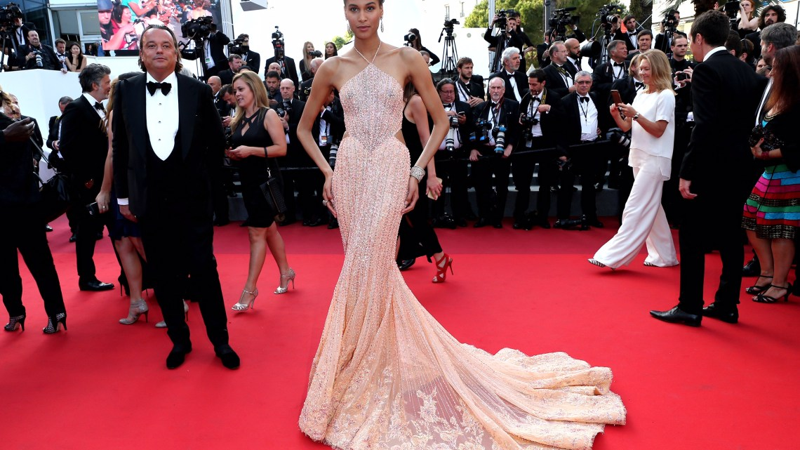 Cindy Bruna in Georges Hobeika in Cannes