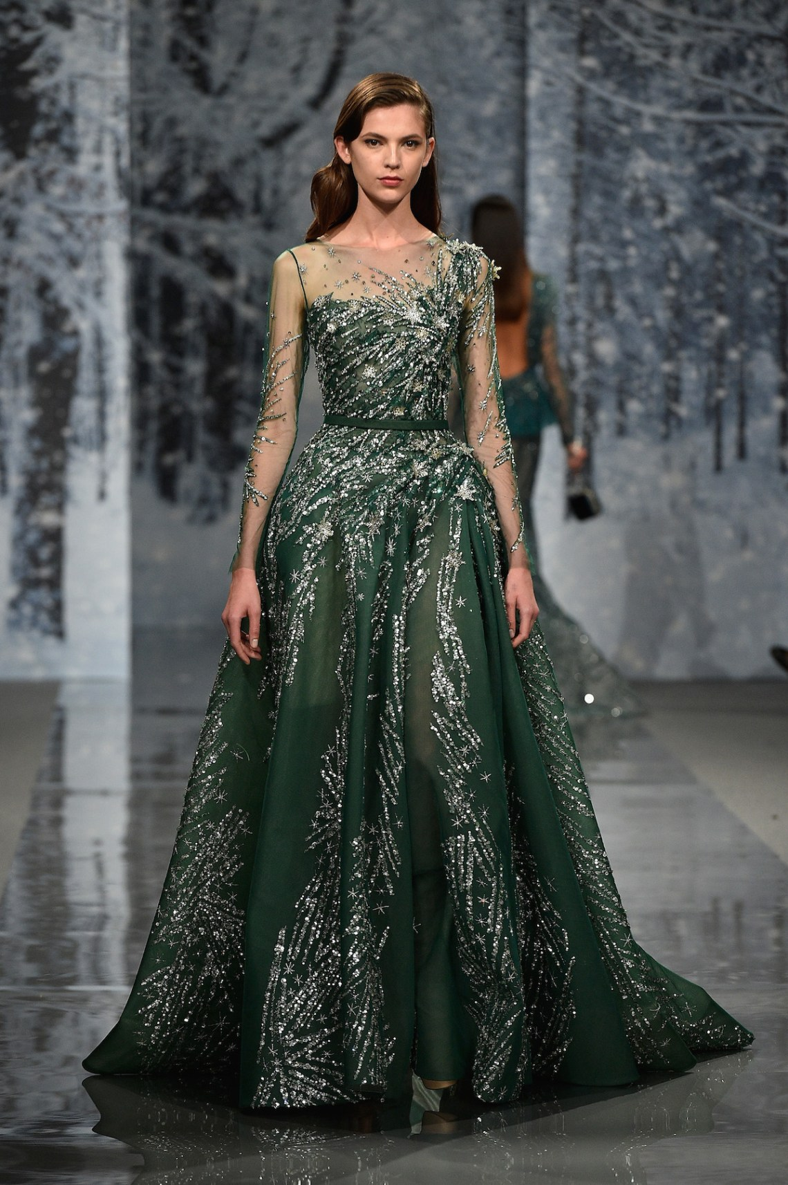 Ziad nakad couture fall winter 2017 18 fashion insider - Maison de couture paris ...