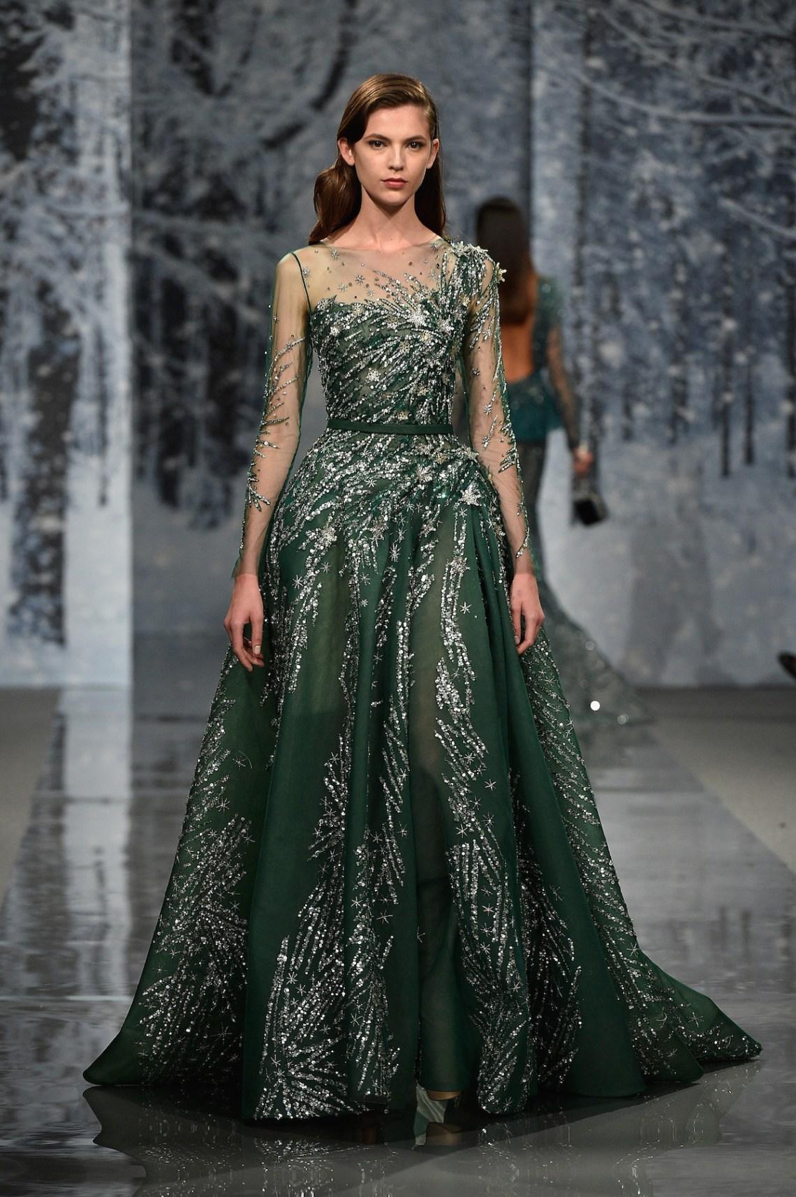 Ziad nakad couture fall winter 2017 18 fashion insider - Maison de haute couture ...