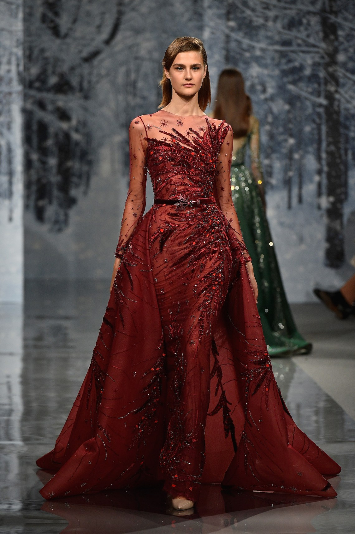 Ziad nakad couture fall winter 2017 18 fashion insider for Haute couture winter