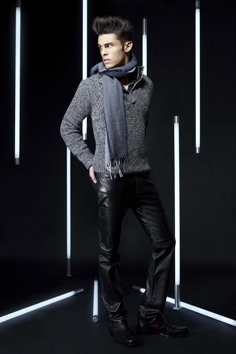 lagerfeldfall9 Baptiste Giabiconi for Lagerfeld Fall/Winter 2011