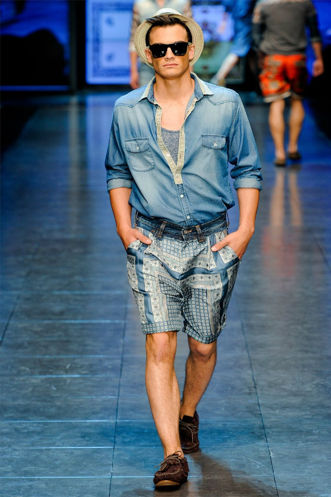 dgrunway12 D&G Spring 2012 | Milan Fashion Week