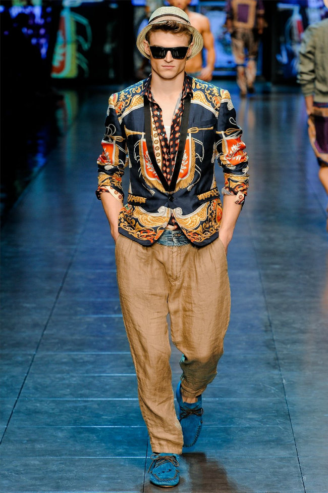 dgrunway4 D&G Spring 2012 | Milan Fashion Week
