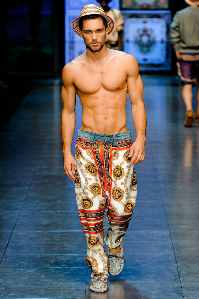 dgrunway5 D&G Spring 2012 | Milan Fashion Week