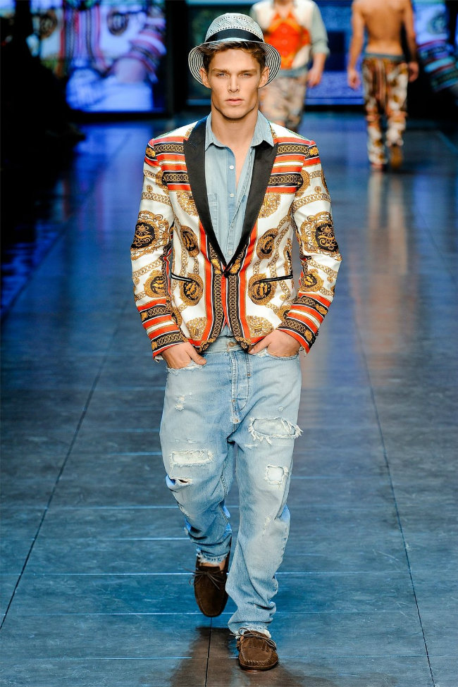 dgrunway6 D&G Spring 2012 | Milan Fashion Week