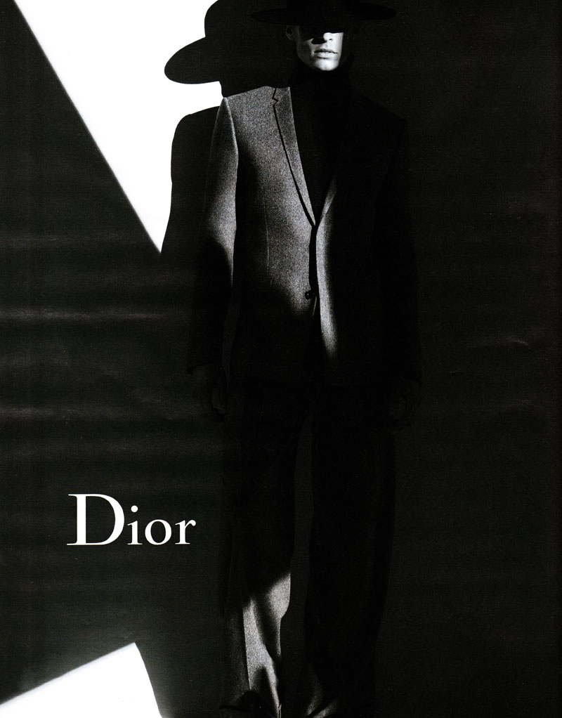 diorhomme Baptiste Giabiconi by Karl Lagerfeld for Dior Homme Fall 2011 Campaign (Preview)