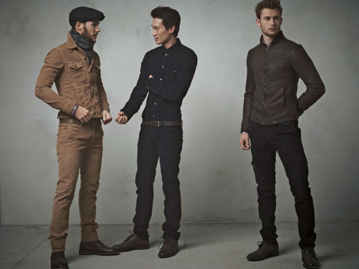 dgcollection12 Arthur Kulkov, Sam Webb, Antonio Navas & Julien Quevenne by Mariano Vivanco for Dolce & Gabbana Fall 2011