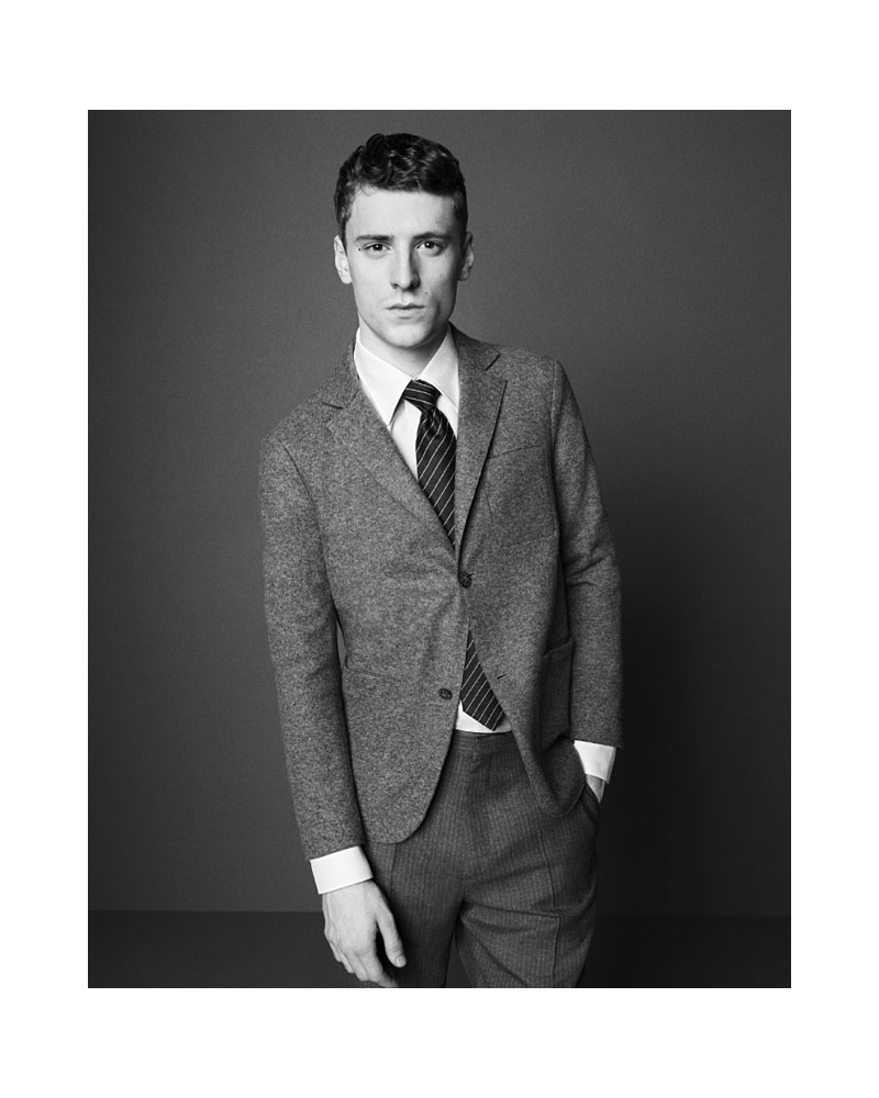 PW001447 George Barnett by Paul Wetherell for Dunhill Spring 2011