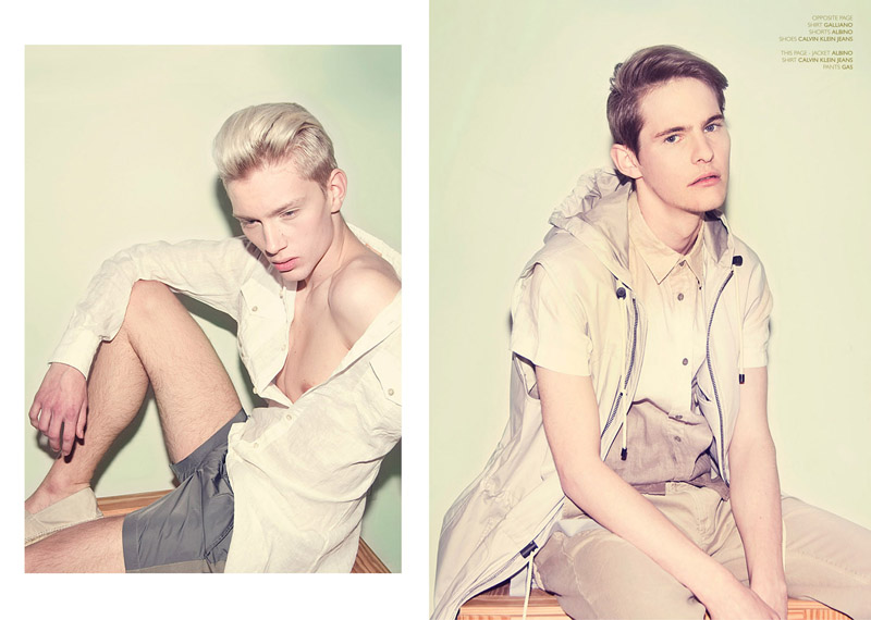 2 Aaron Wigley, Janice Fronimakis & Richard Kranzin by Ivan Muselli for <em>Fiasco</em>