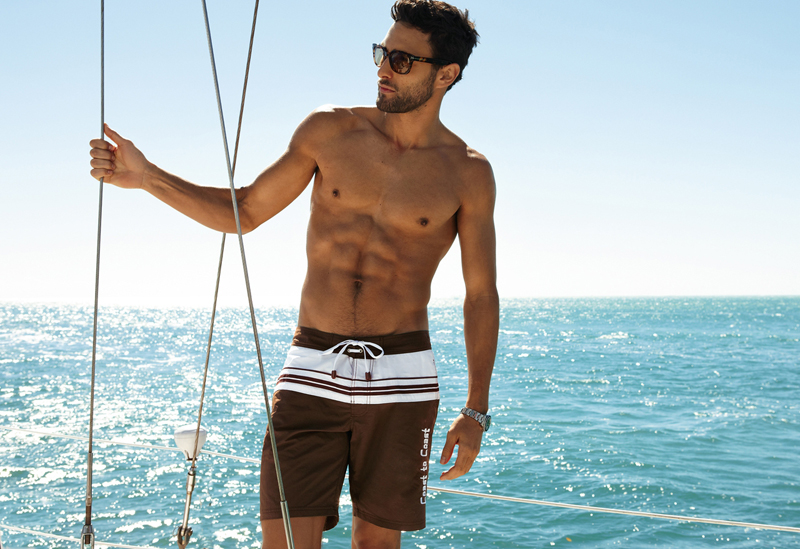 14 Noah Mills by Dean Isidro for Calzedonia Spring 2011 Campaign