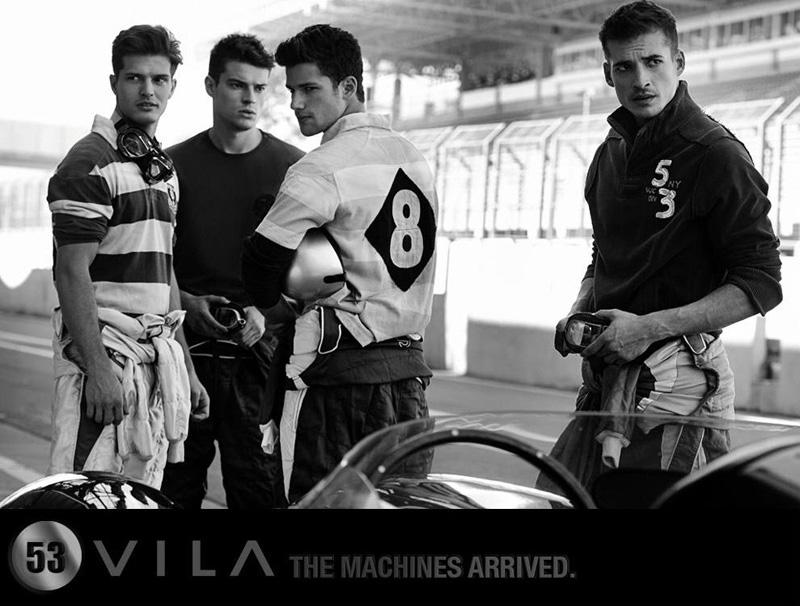 2 Arthur Sales, Diego Miguel, Jean Carlos &  Jordão Altmann by Cristiano Madureira for Vila Romana Fall 2011 Campaign