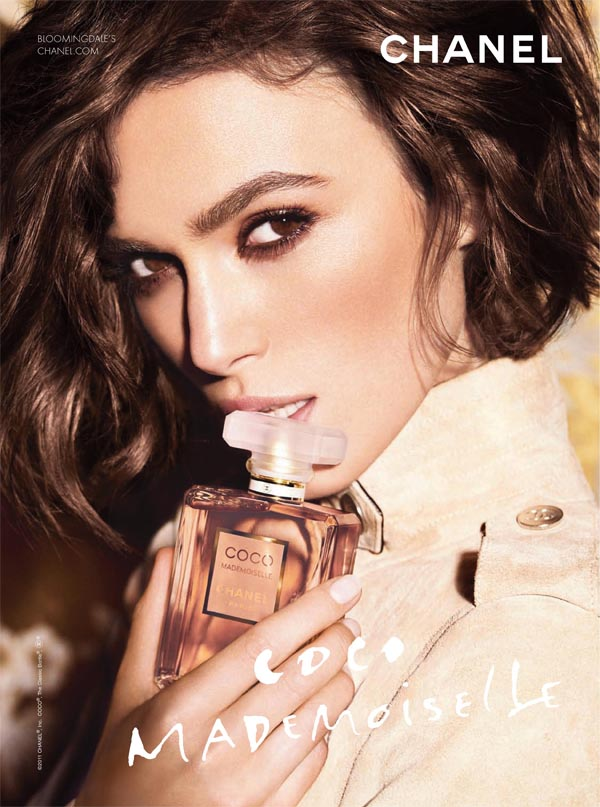 chanel Keira Knightley for Chanel Coco Mademoiselle Campaign by Mario Testino