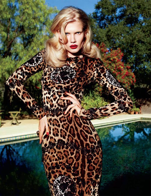 matthias Yulia Terentieva by Matthias Vriens McGrath for <em>Elle UK</em> May 2011