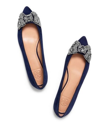 Vanessa flat - Gorgeous Tory Burch flats in black or navy