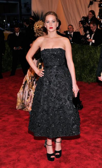 Jennifer Lawrence in Dior - MET Gala 2013