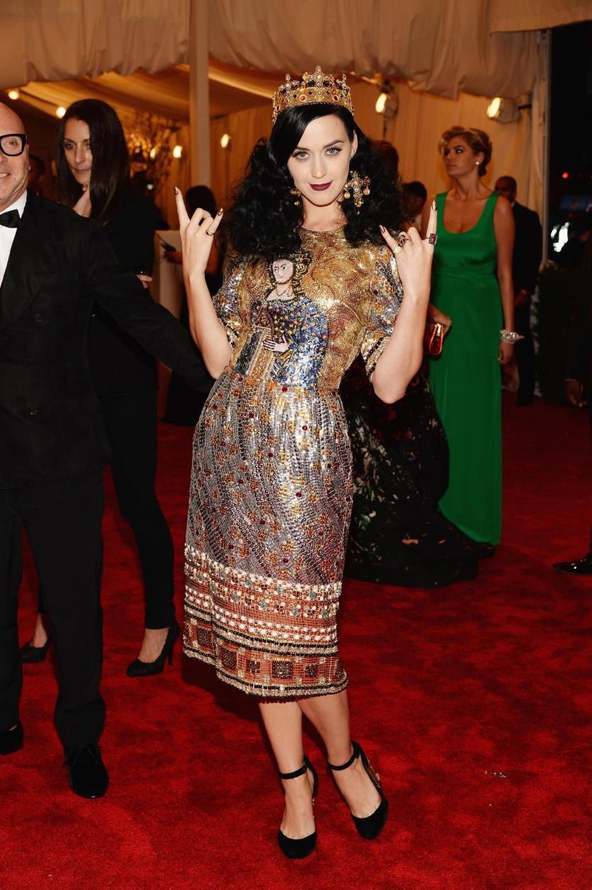 Katy Perry in Dolce&Gabbana - MET Gala 2013