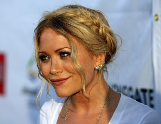marykate olsen braided bun